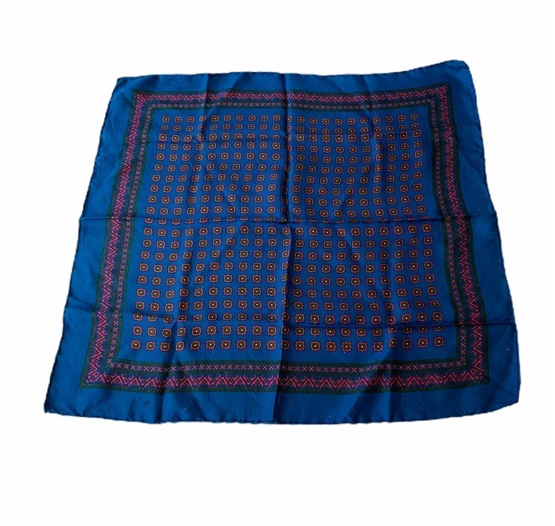 All Silk Scarf Wrap Classic Italian