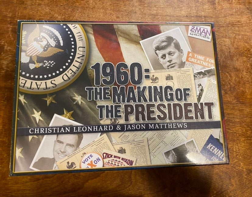 1960: The Making of a President Game New