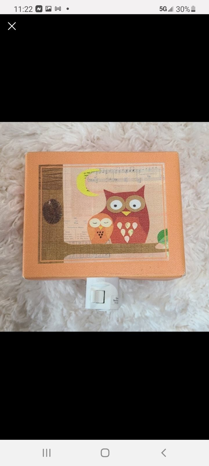 CANVAS OWL Nightlight