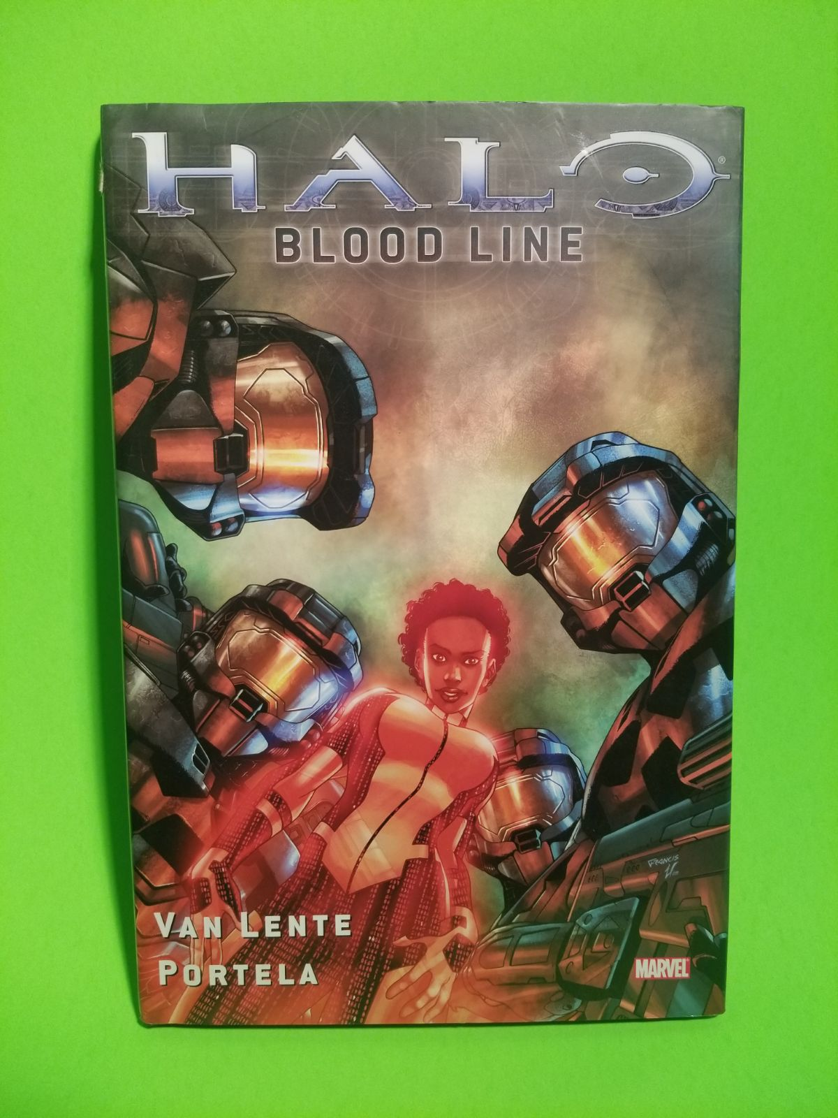 Halo Bloodline Comic Book