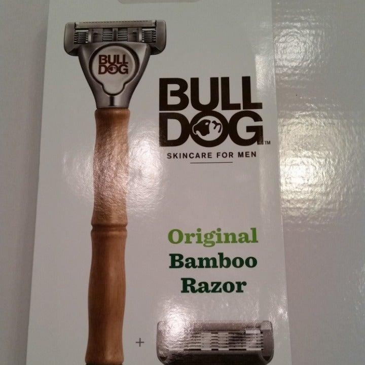Bull Dog original Bamboo Razor.