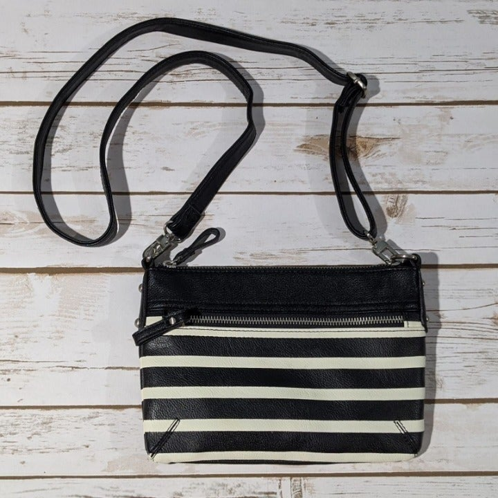 Merona Striped Crossbody Handbag