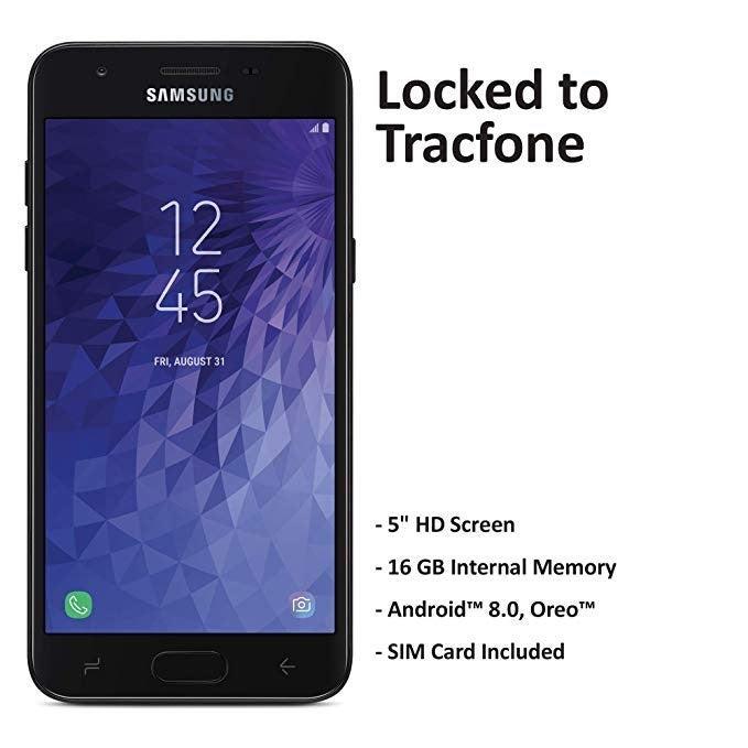 Tracfone Carrier-Locked Samsung Galaxy J