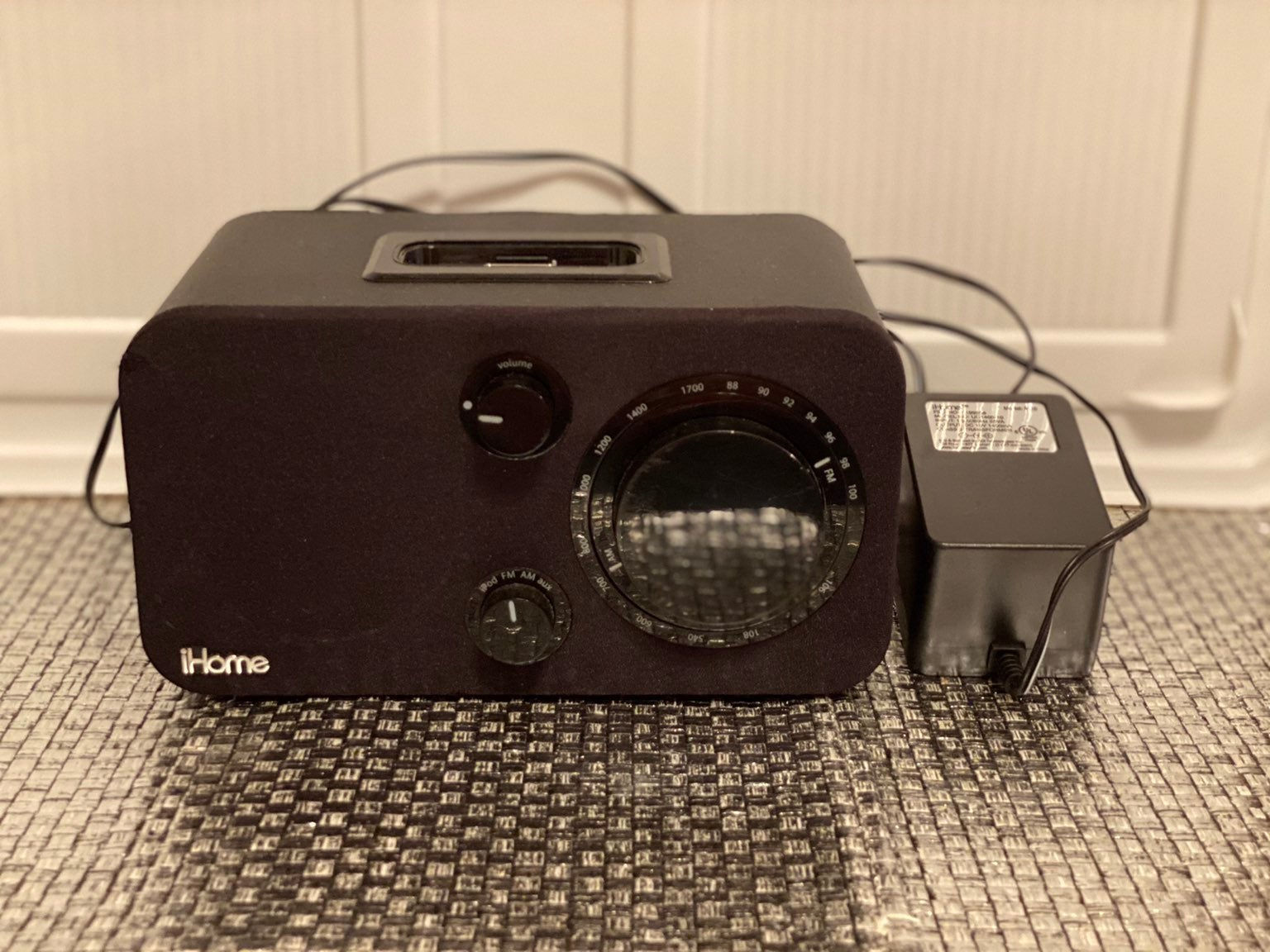 iHome AM/FM for your iPod