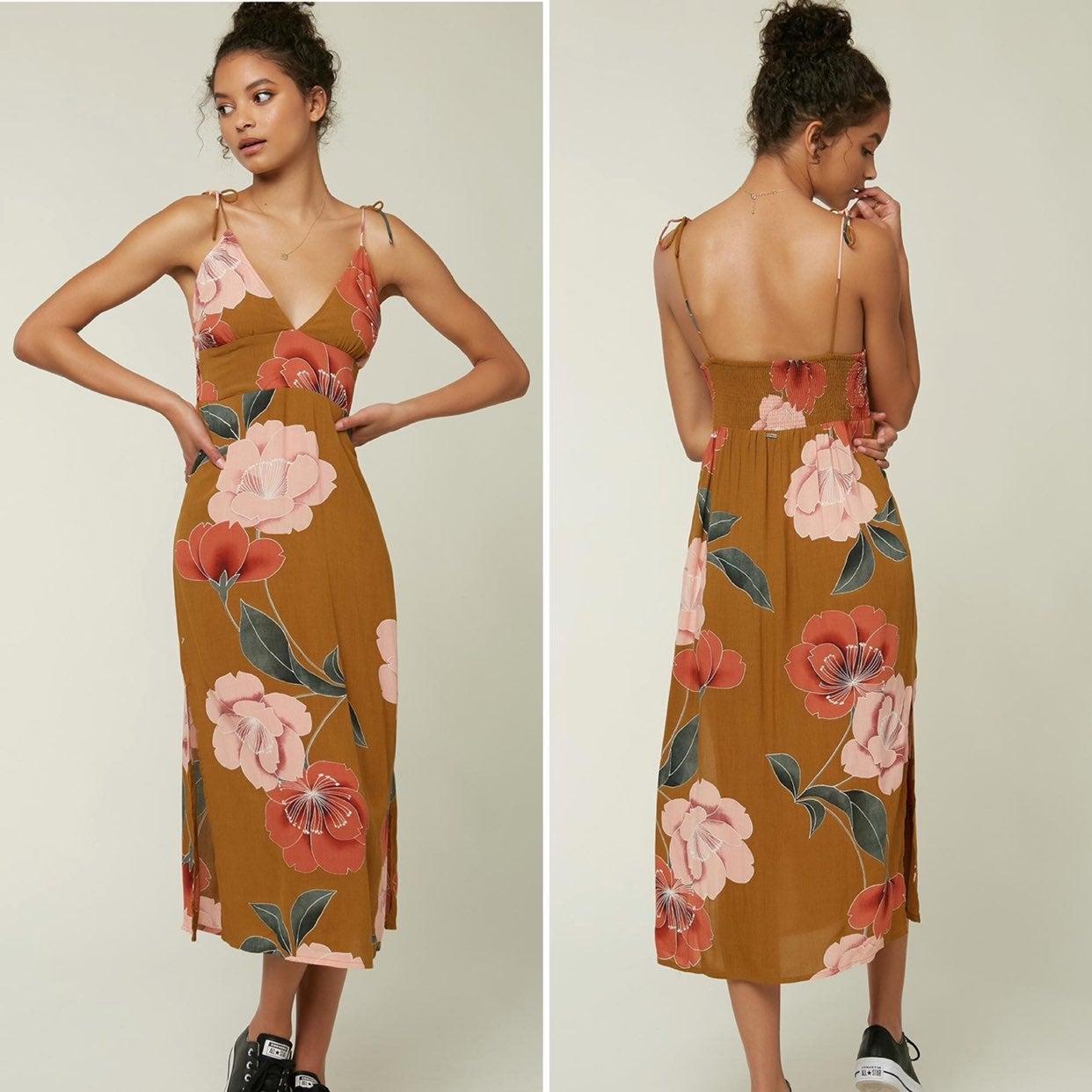 O'Neill Mallorie Gold Coast Dress XS