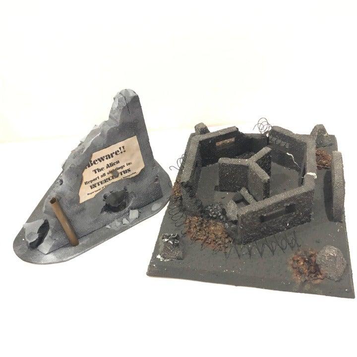 Custom Warhammer 4K Scenery Foam Terrain