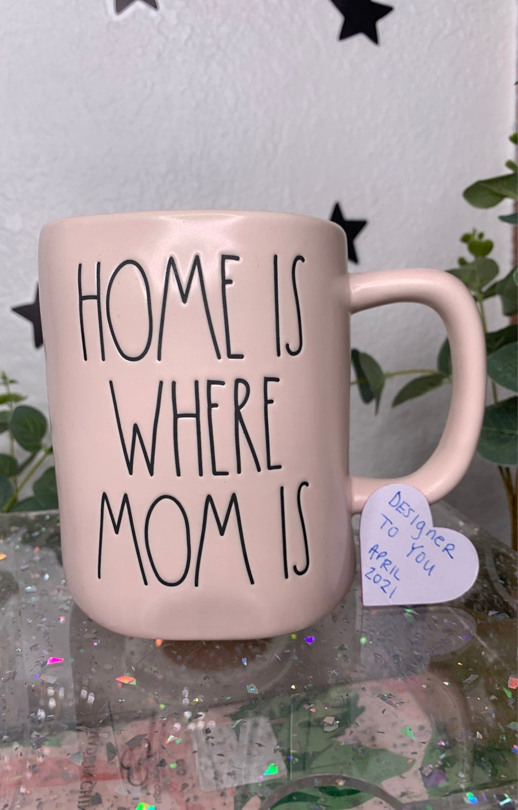 RAE DUNN HOME IS WHERE MOM IS NEW HTF RD
