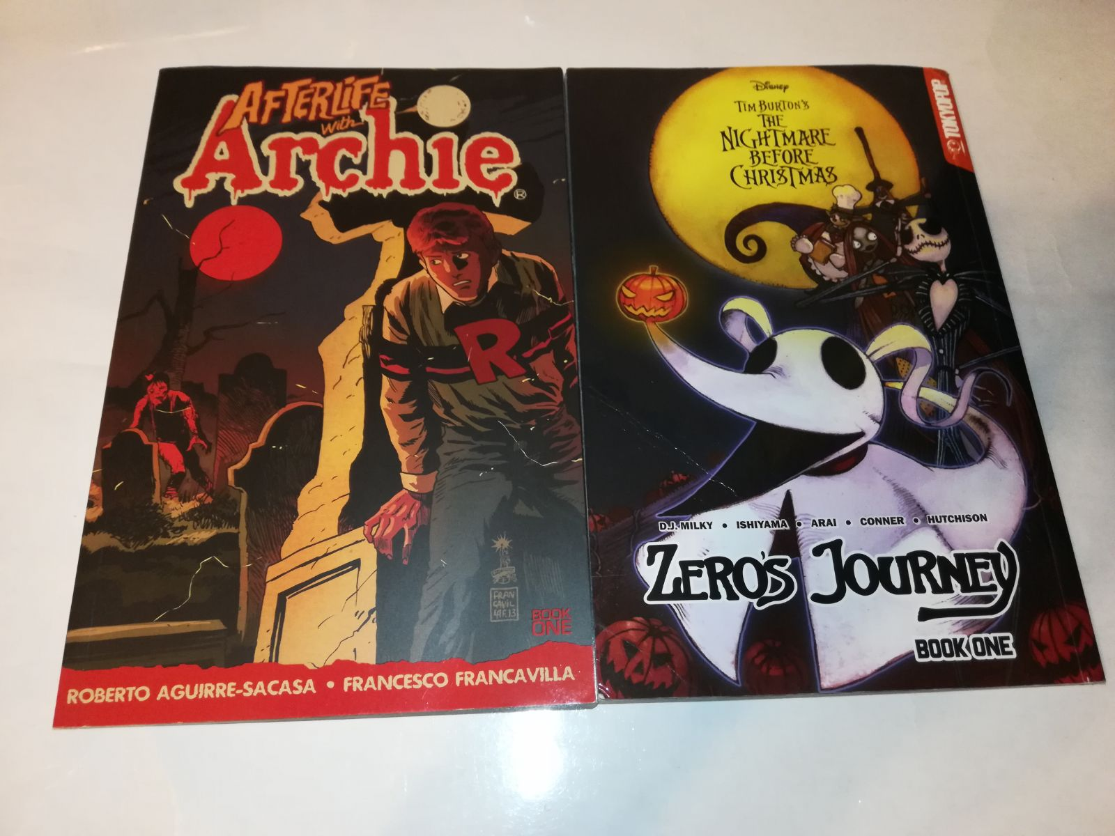 Archie & Nightmare before christmas