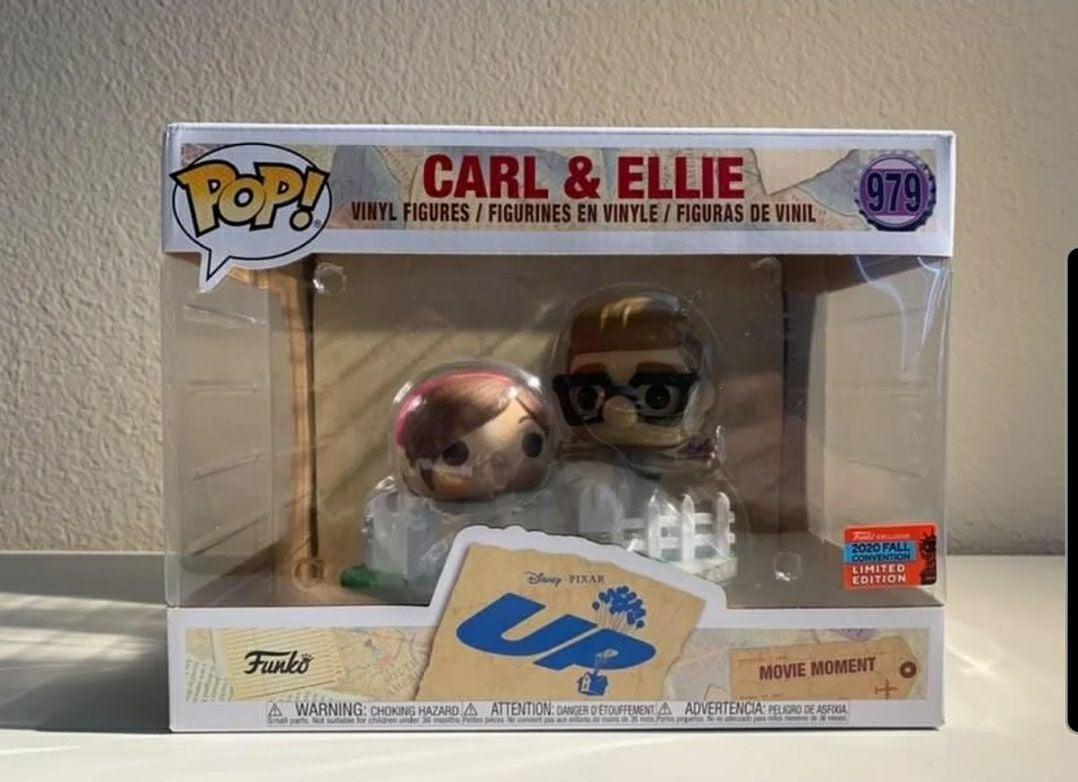 carl and ellie funko pop nycc