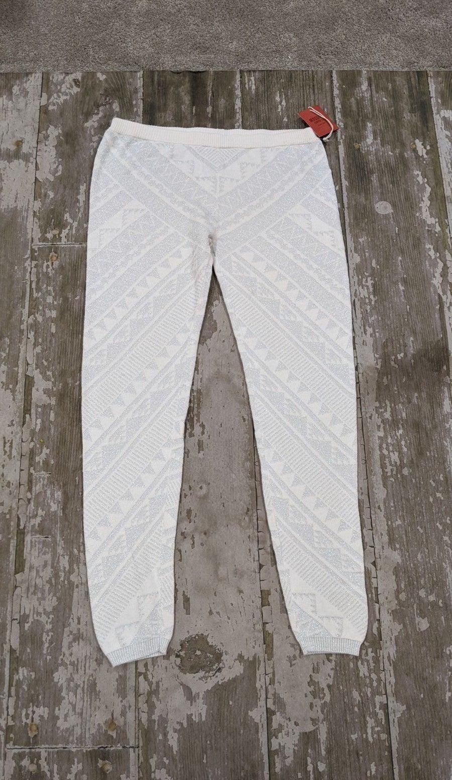 New Mossimo Silver Shimmer Tribal Leggin