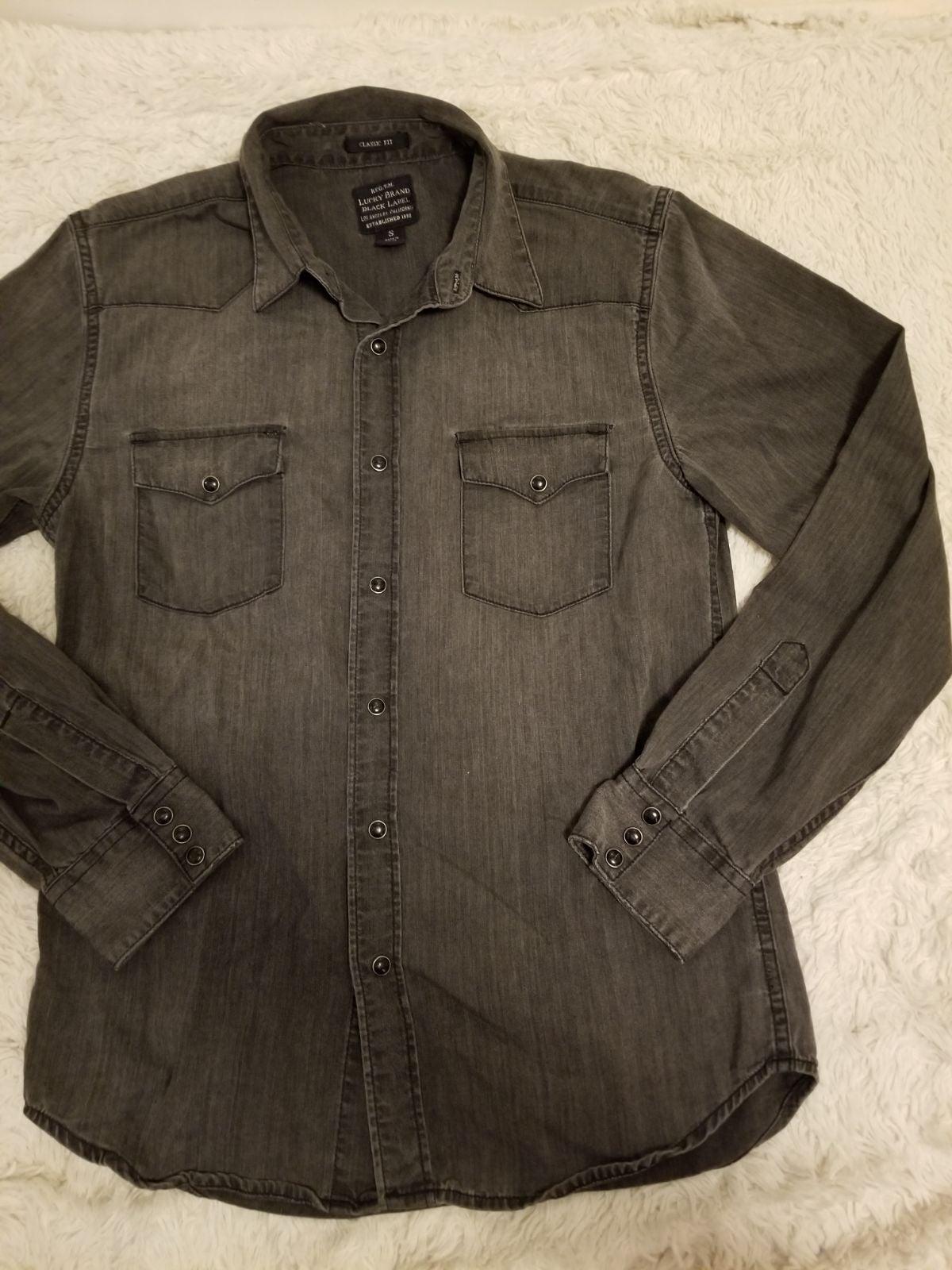 Lucky Brand Men's Denim Shirt