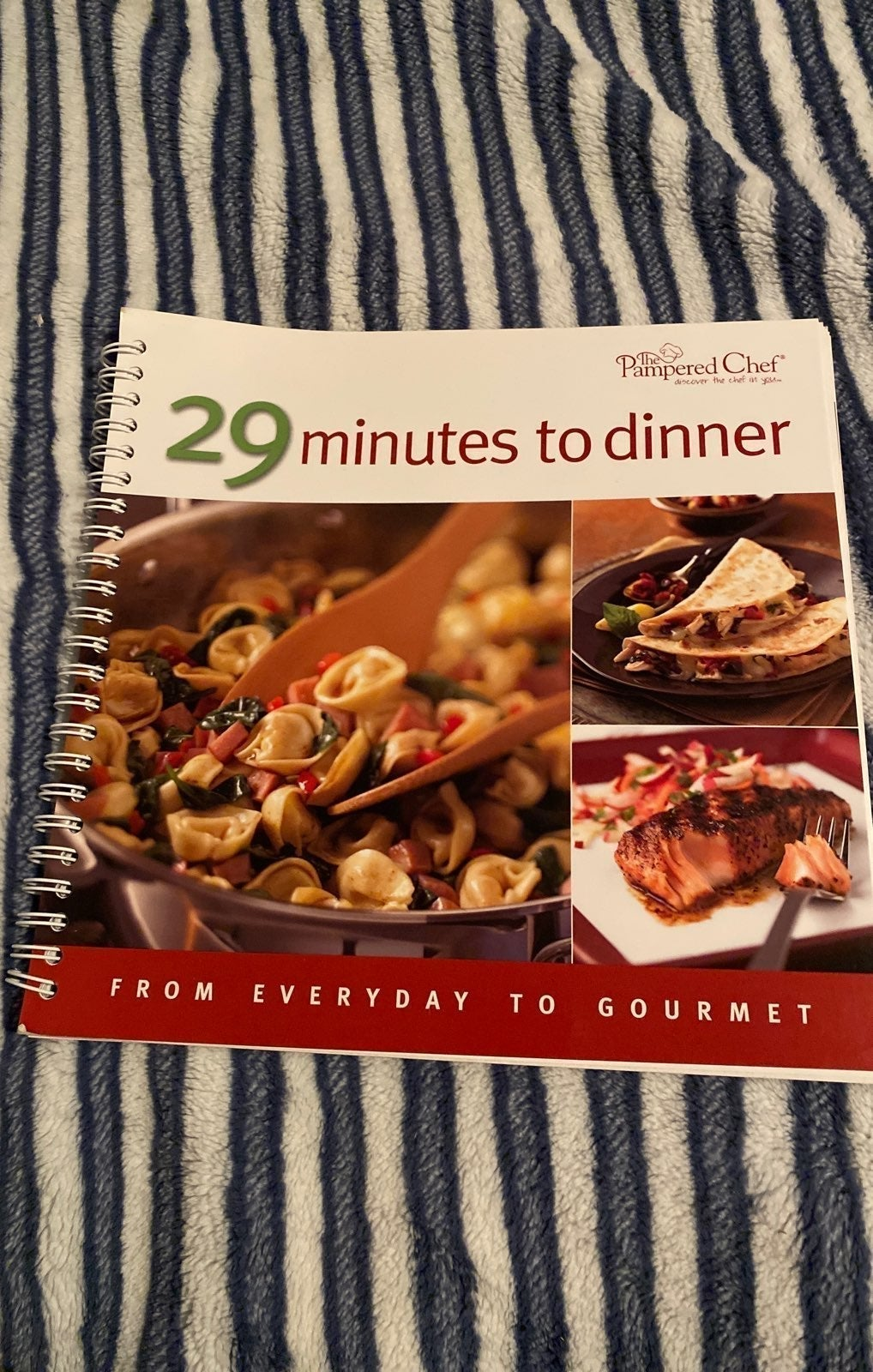 Pampered Chef 29 Minutes to Dinner Cookb