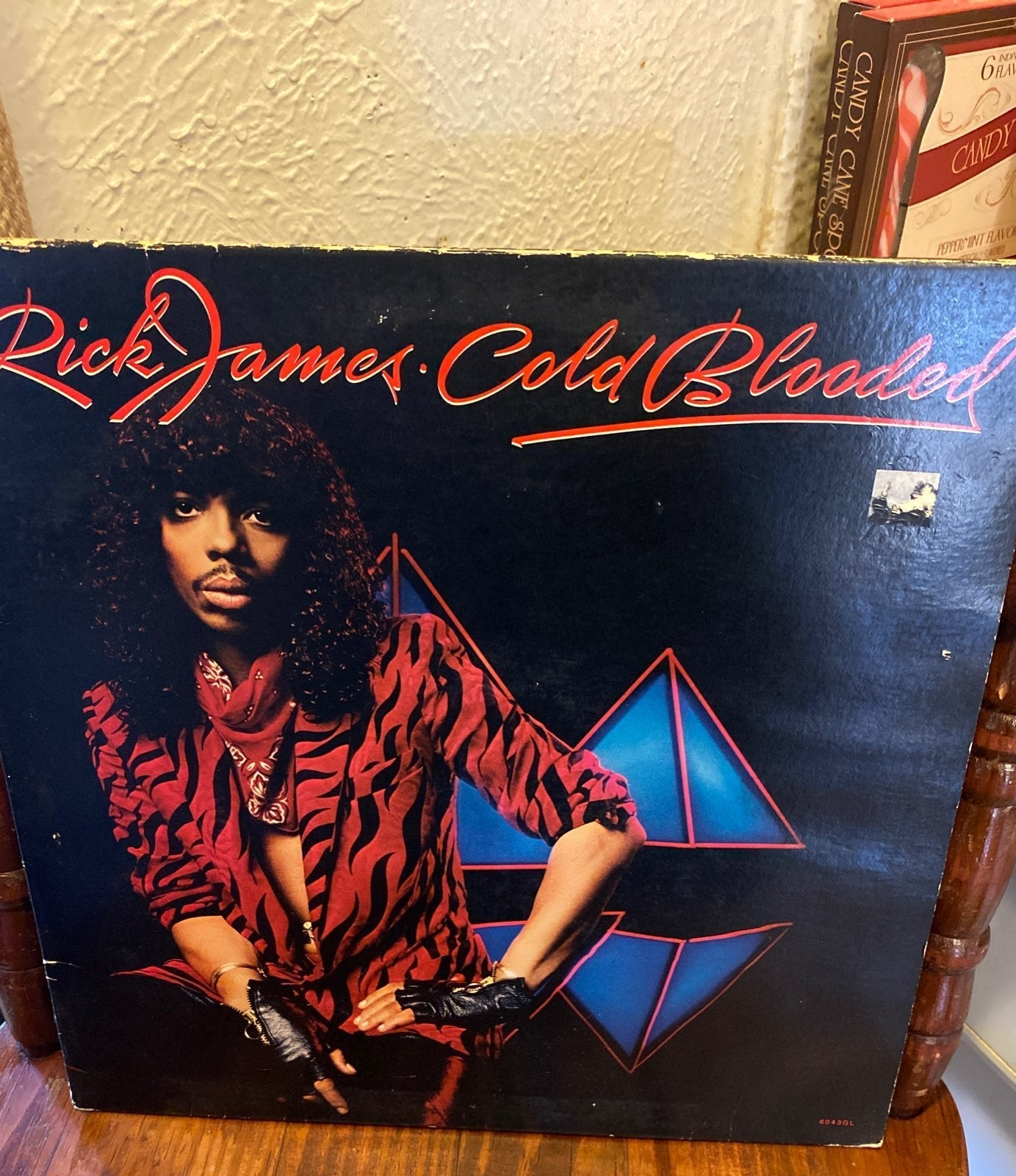 Cold Blooded by Rick James (Vinyl, Motow