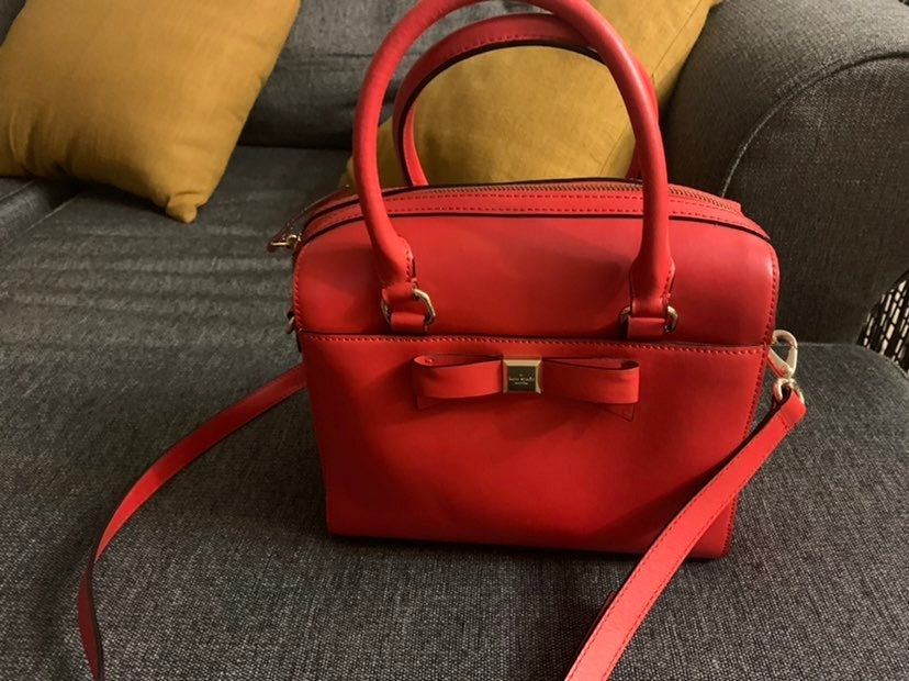 Kate Spade New York Red Bow Satchel