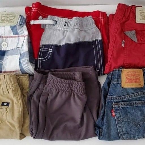 Boys Lot of 6 pair of Shorts Sz.7 Levis/