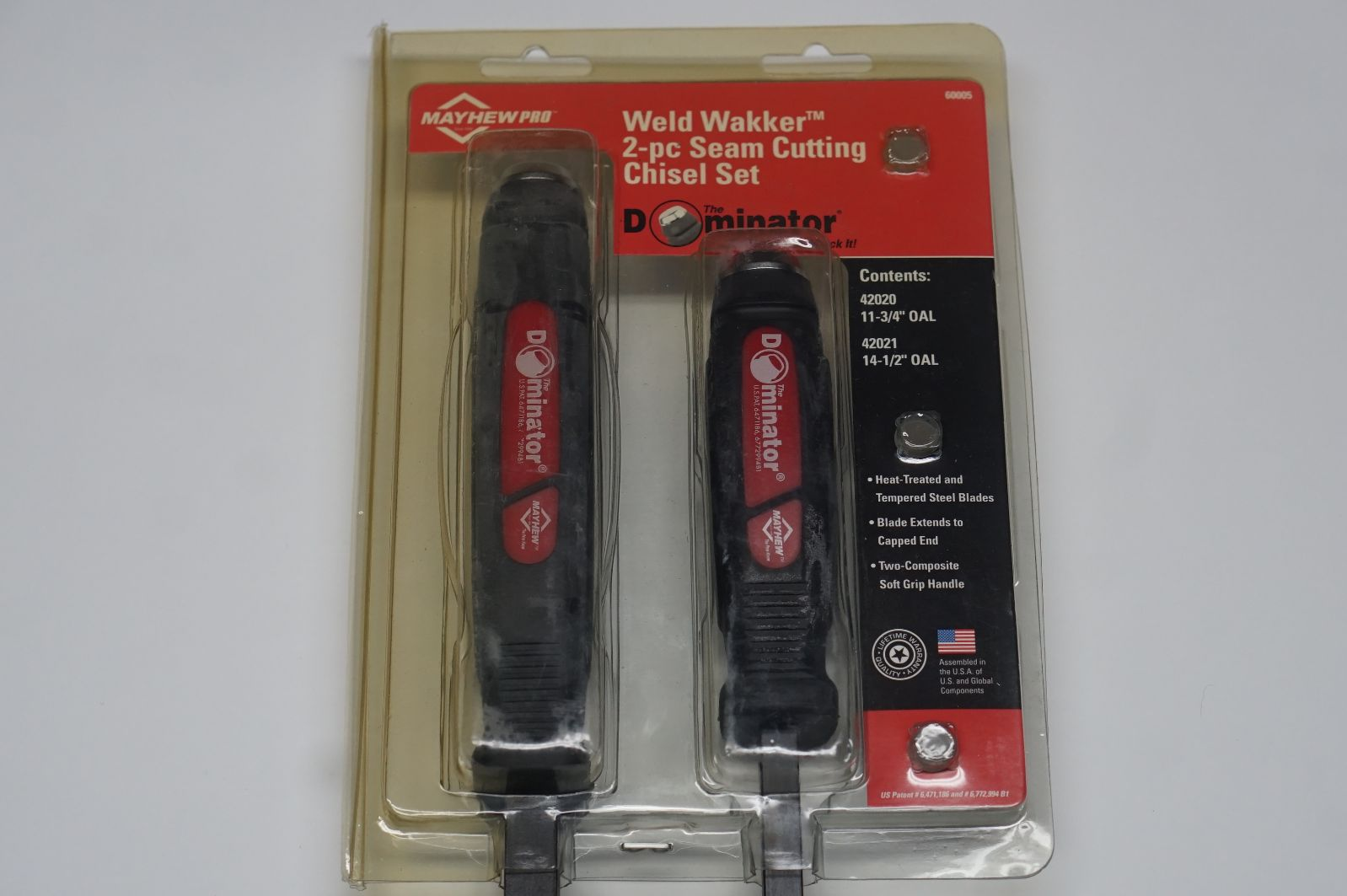 Weld Wakker Seam Cutting Chisel Set