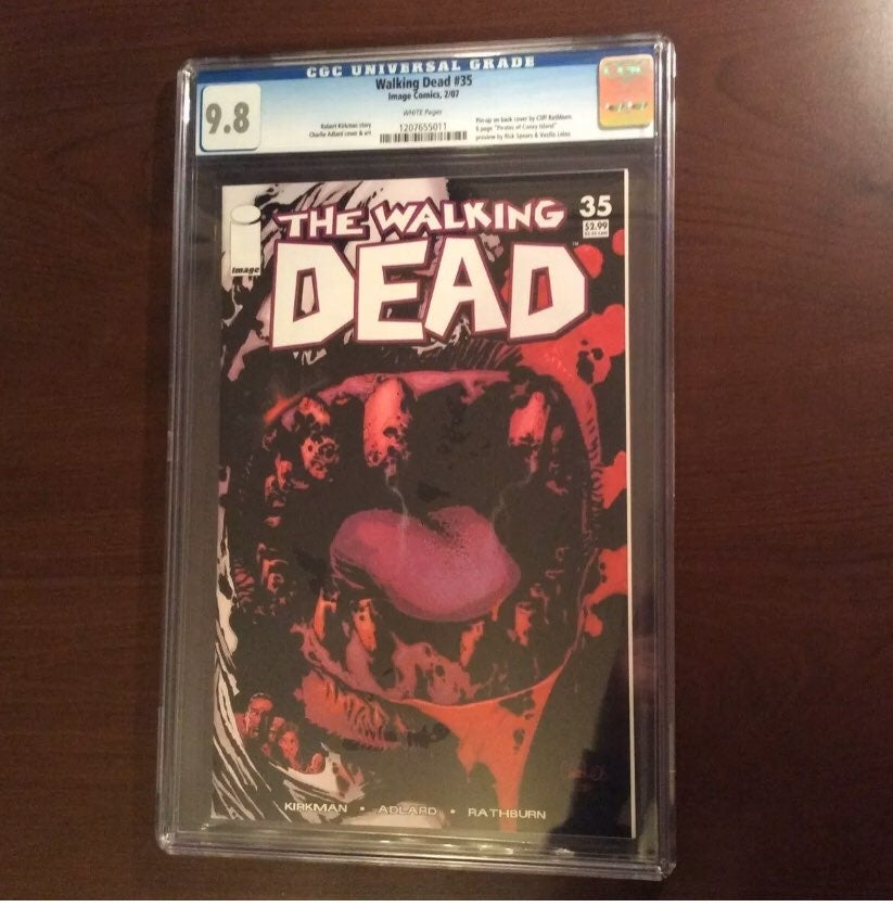 The Walking Dead #35 CGC 9.8