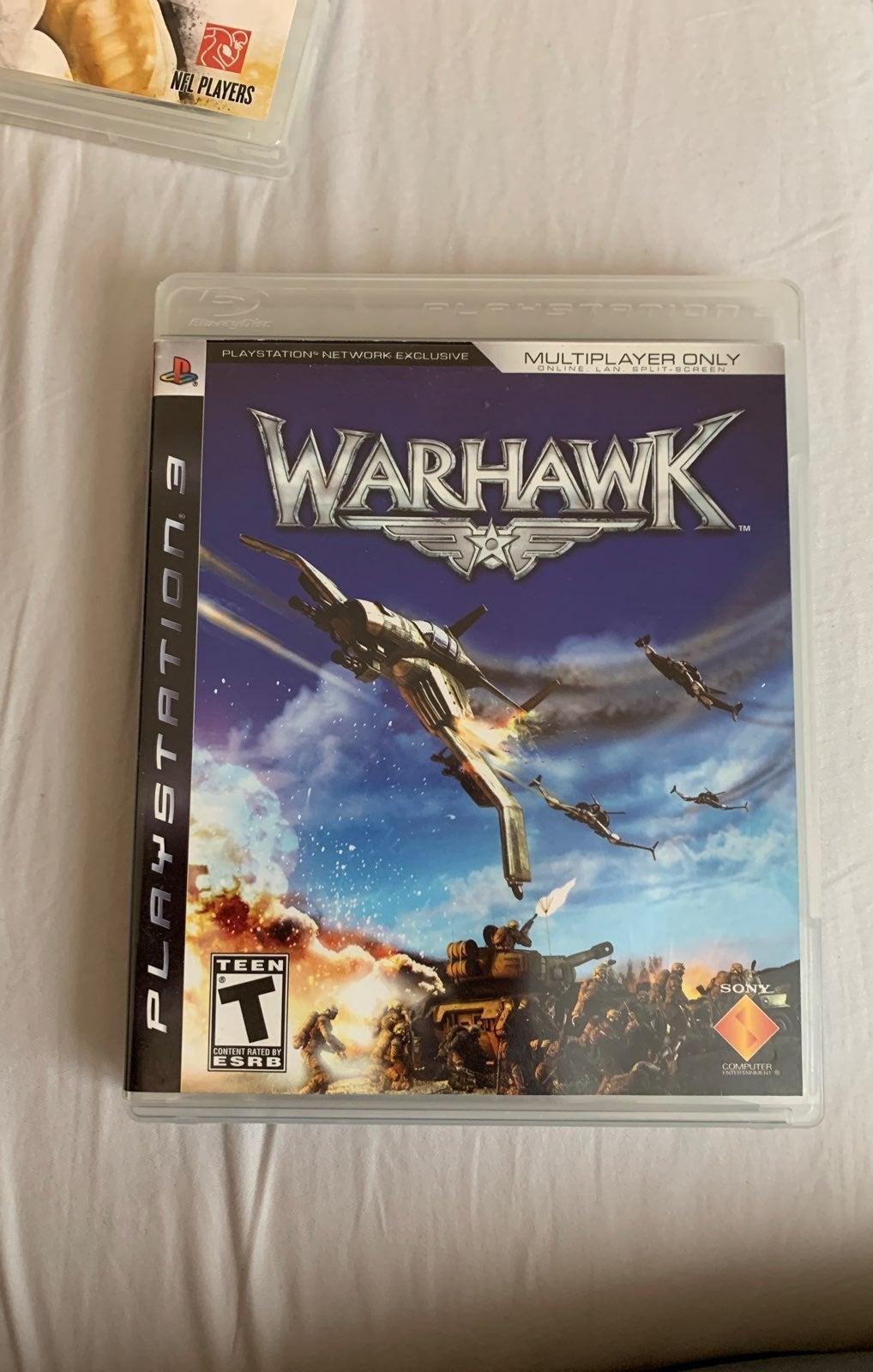 Warhawk PS3 game