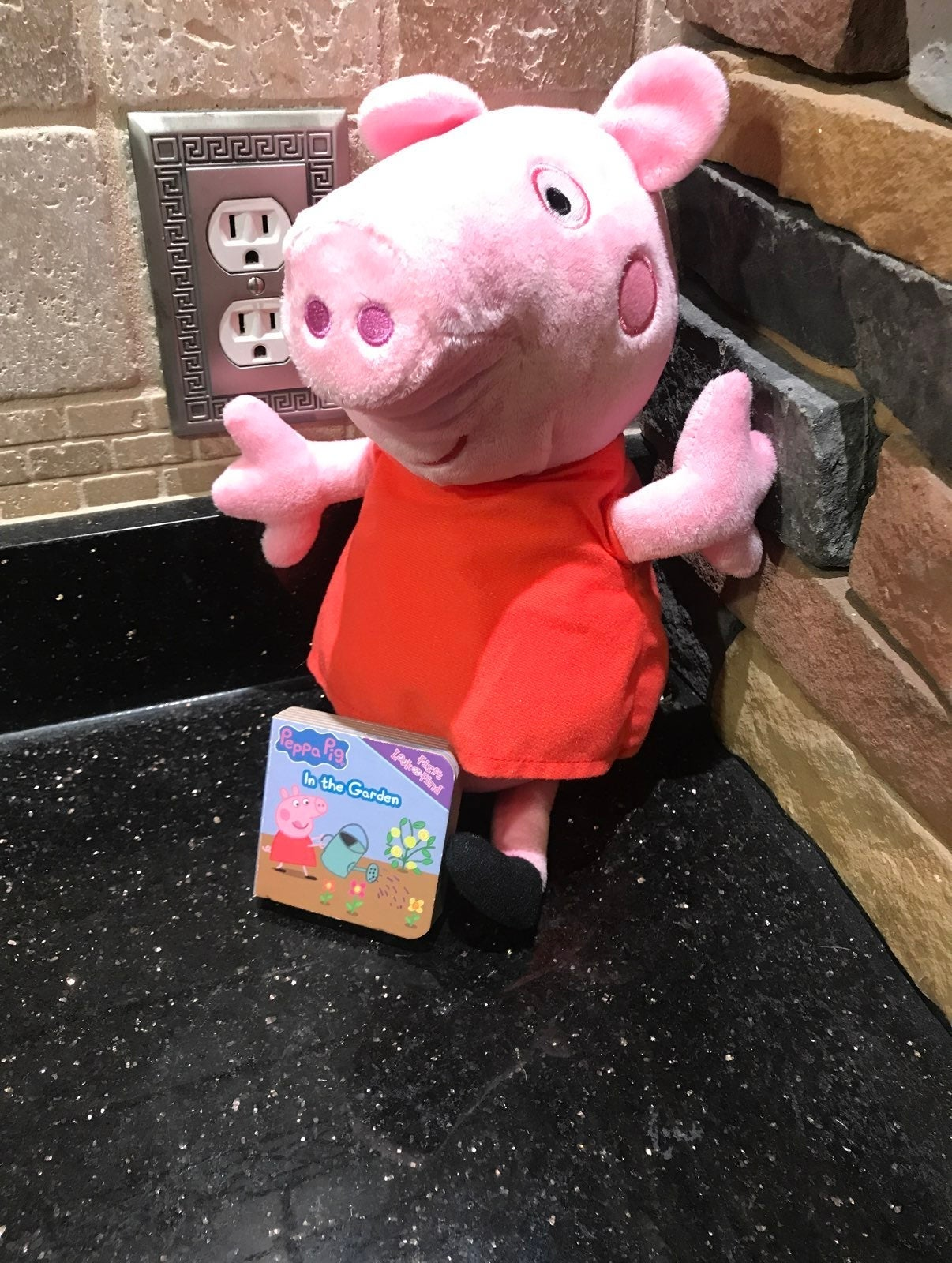 Peppa Pig Plush and book