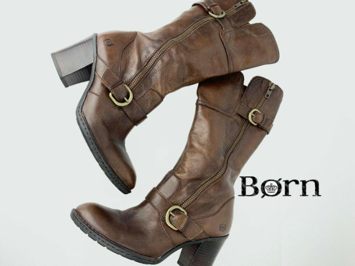 Born Crown TREDDY Brown Boots Leather