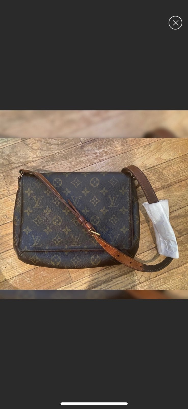 Louis Vuitton Musette Tango Short Bag