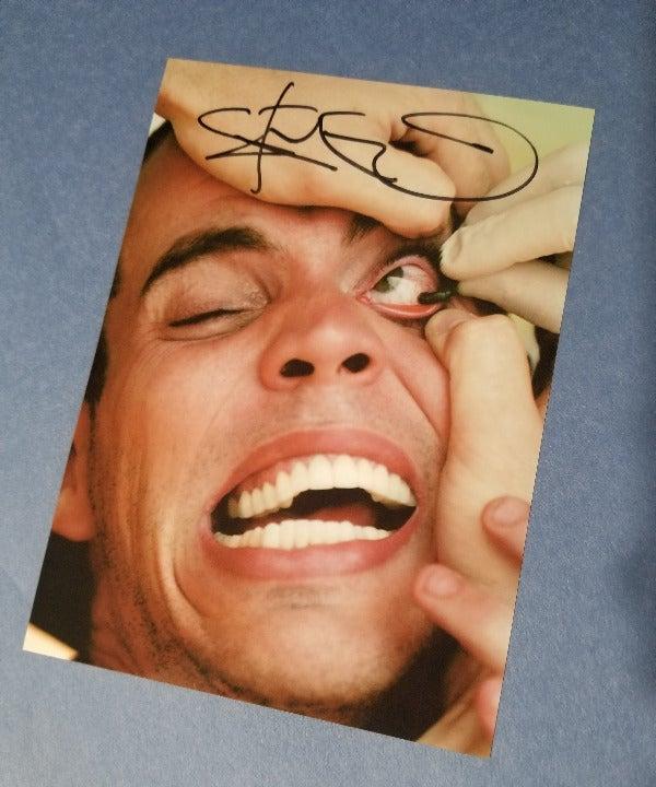 Jackass signed 5x7 Photo RP Steve-O