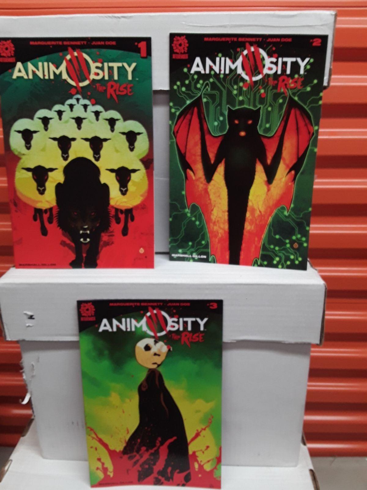 Animosity mini series 1 2 3 set