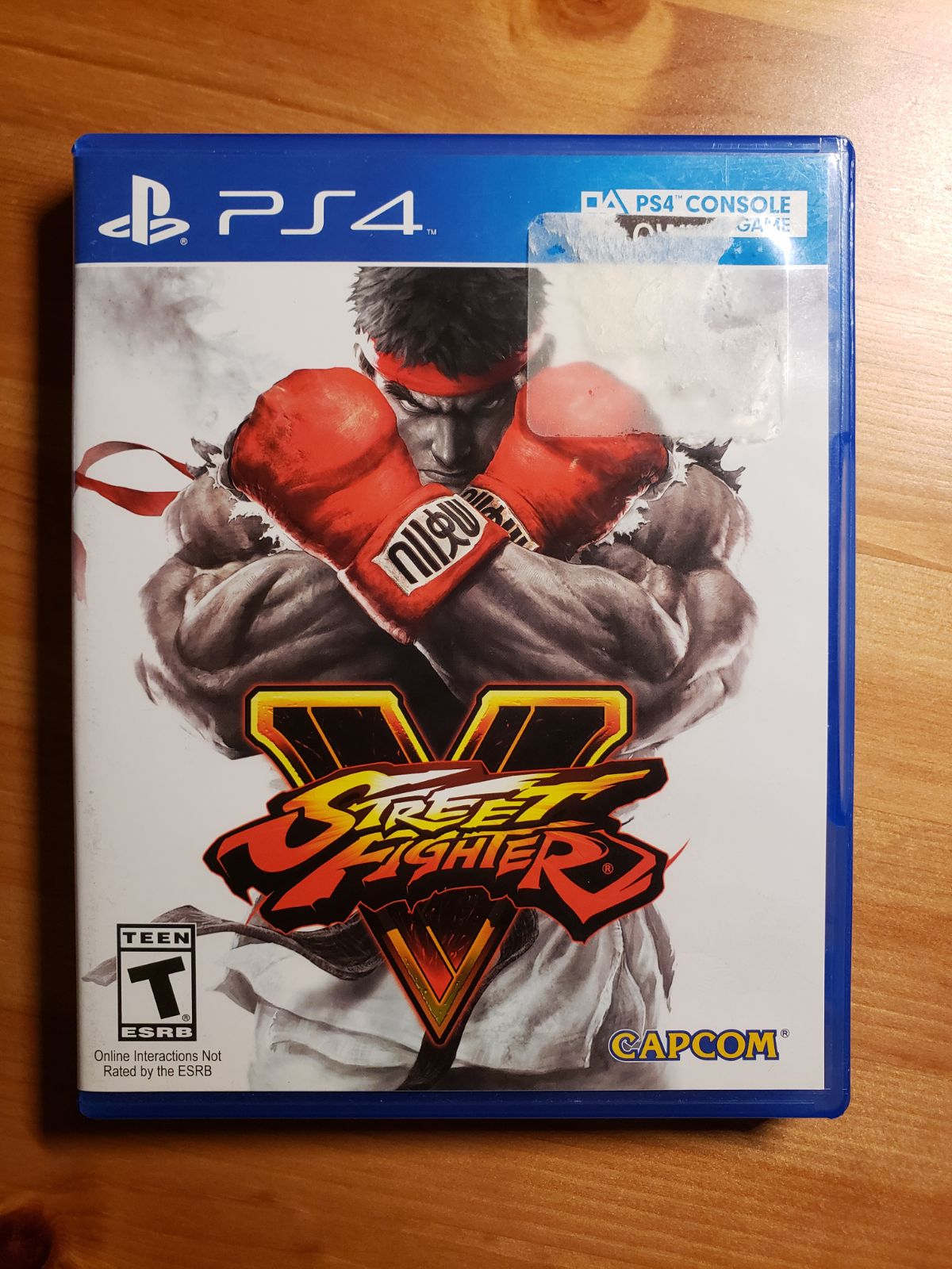 PS4 Street Fighters V