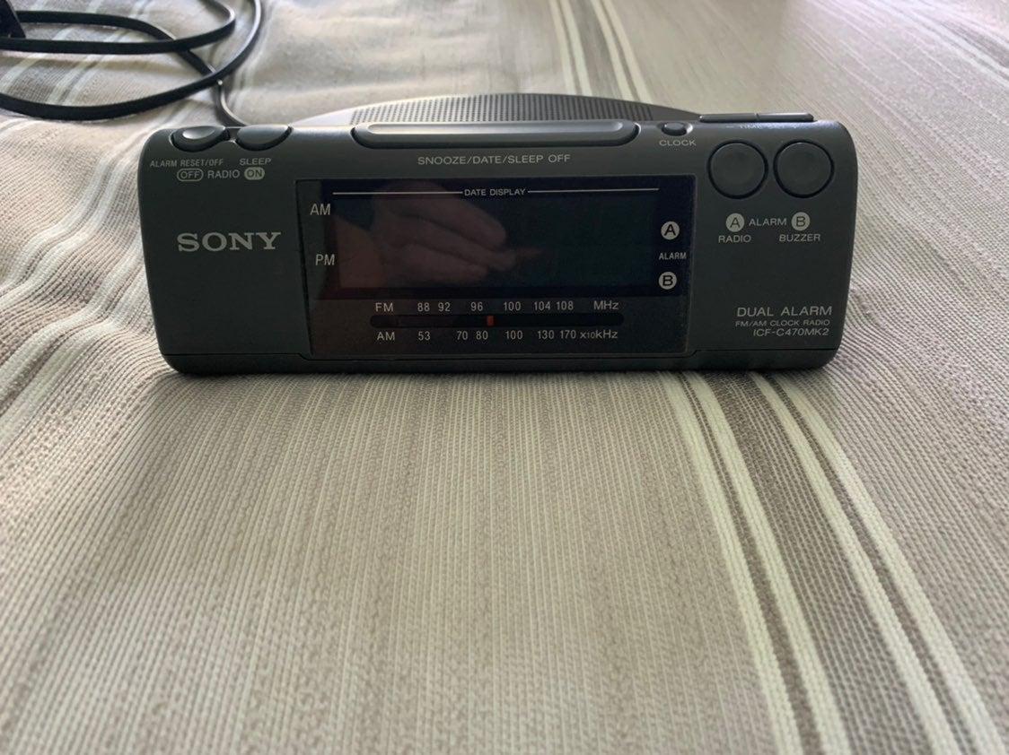 Sony Dream Machine Clock Radio Alarm