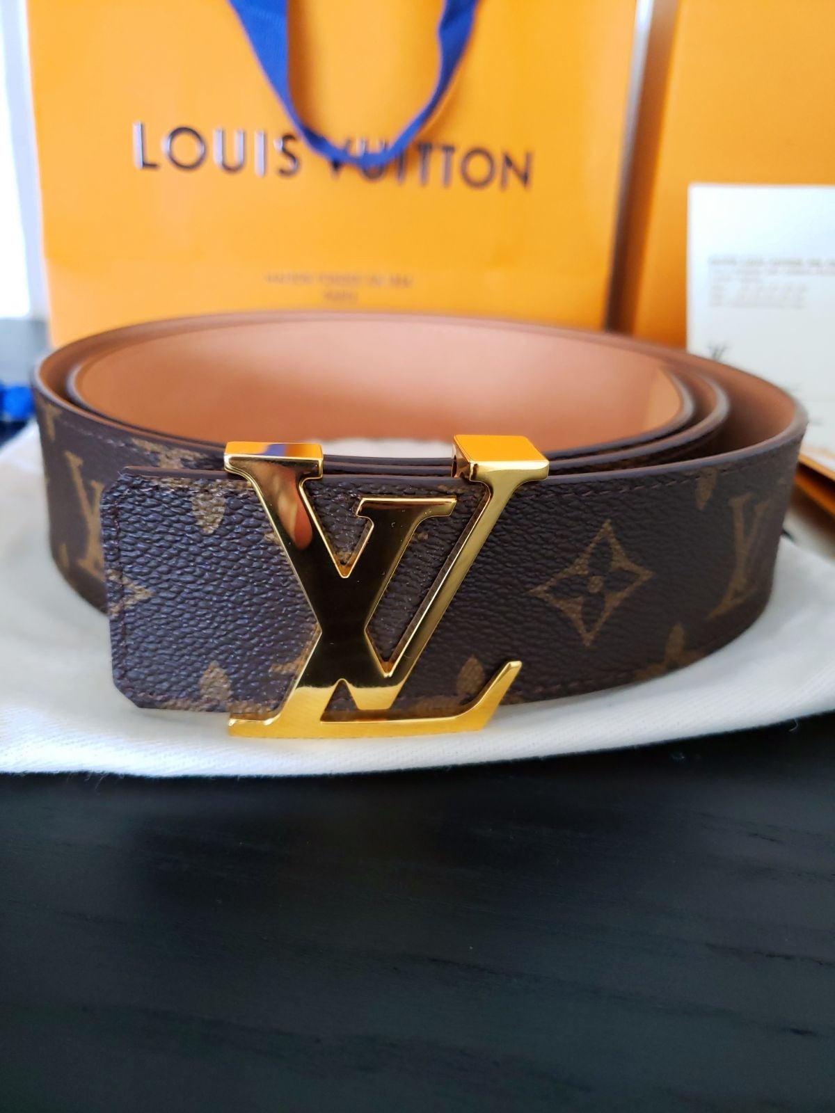 Louis Vuitton Monogram Belt 110cm