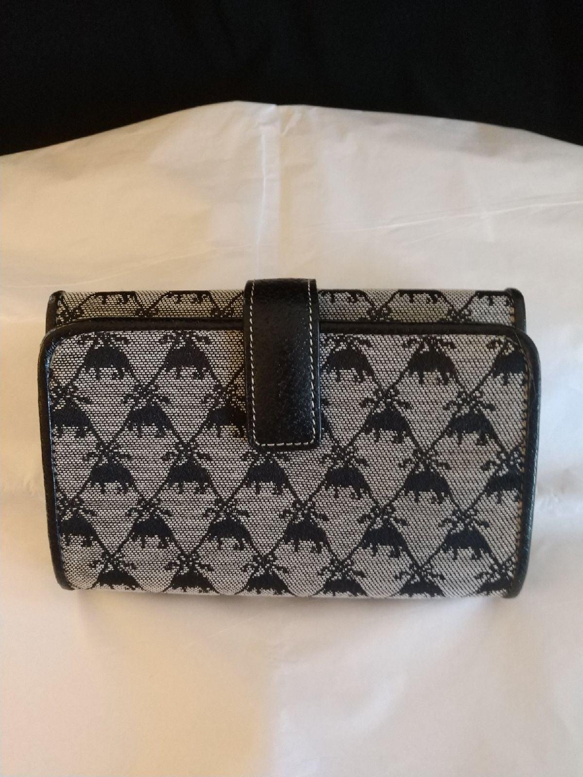 Brooks Brothers Fleece Brocade Wallet