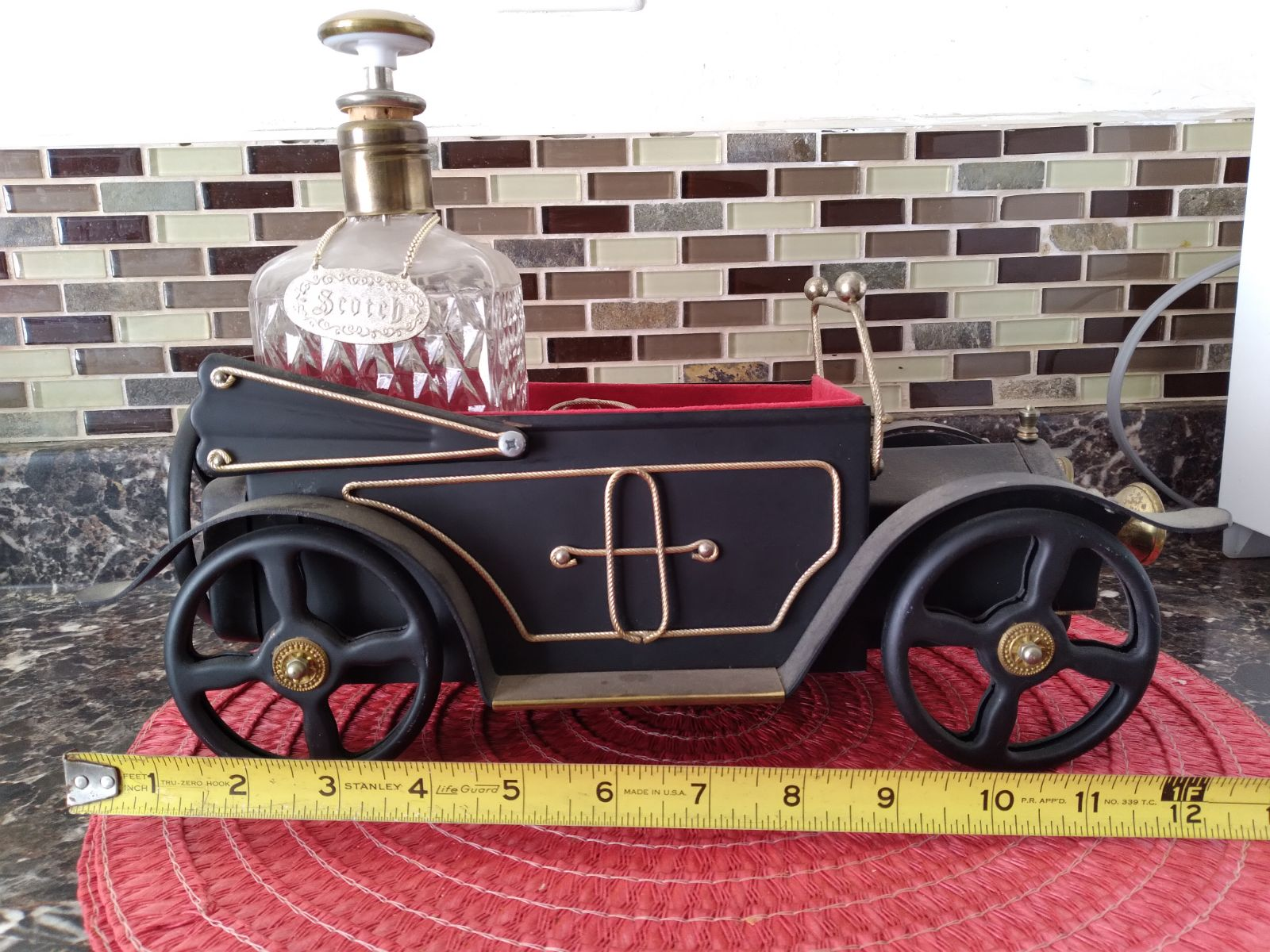 Vintage Car w/  Liquor Decanter