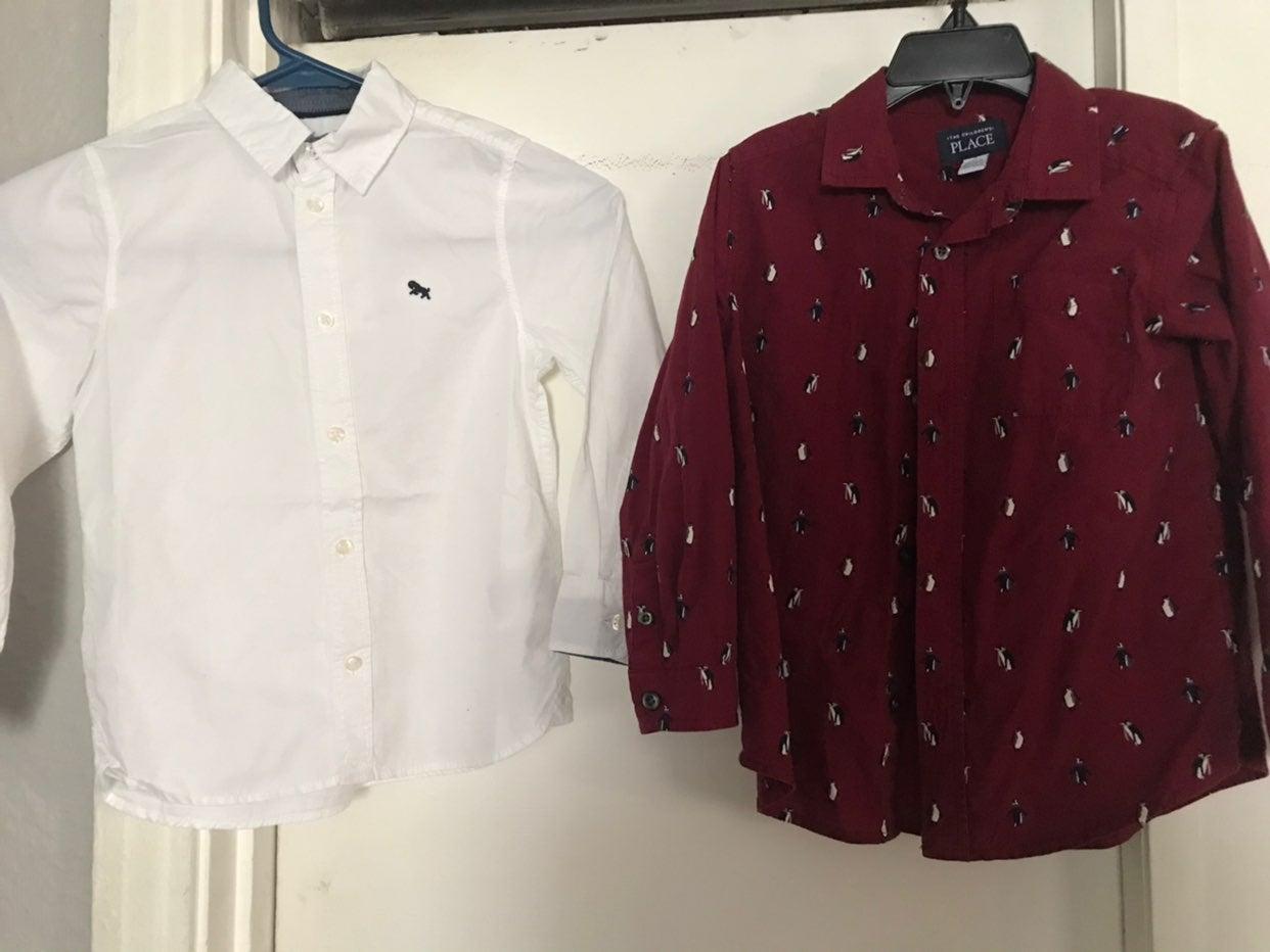 5t long sleeve shirts