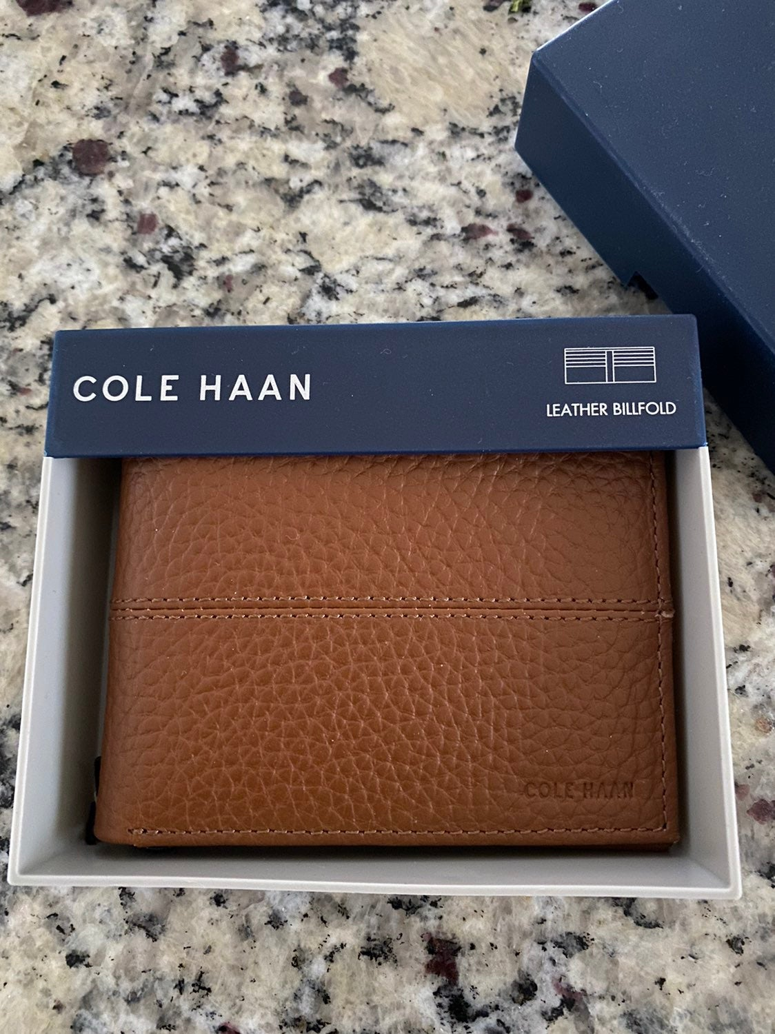 Men's Cole Haan leather billfold wallet