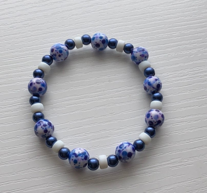 Antique Blue Bracelet