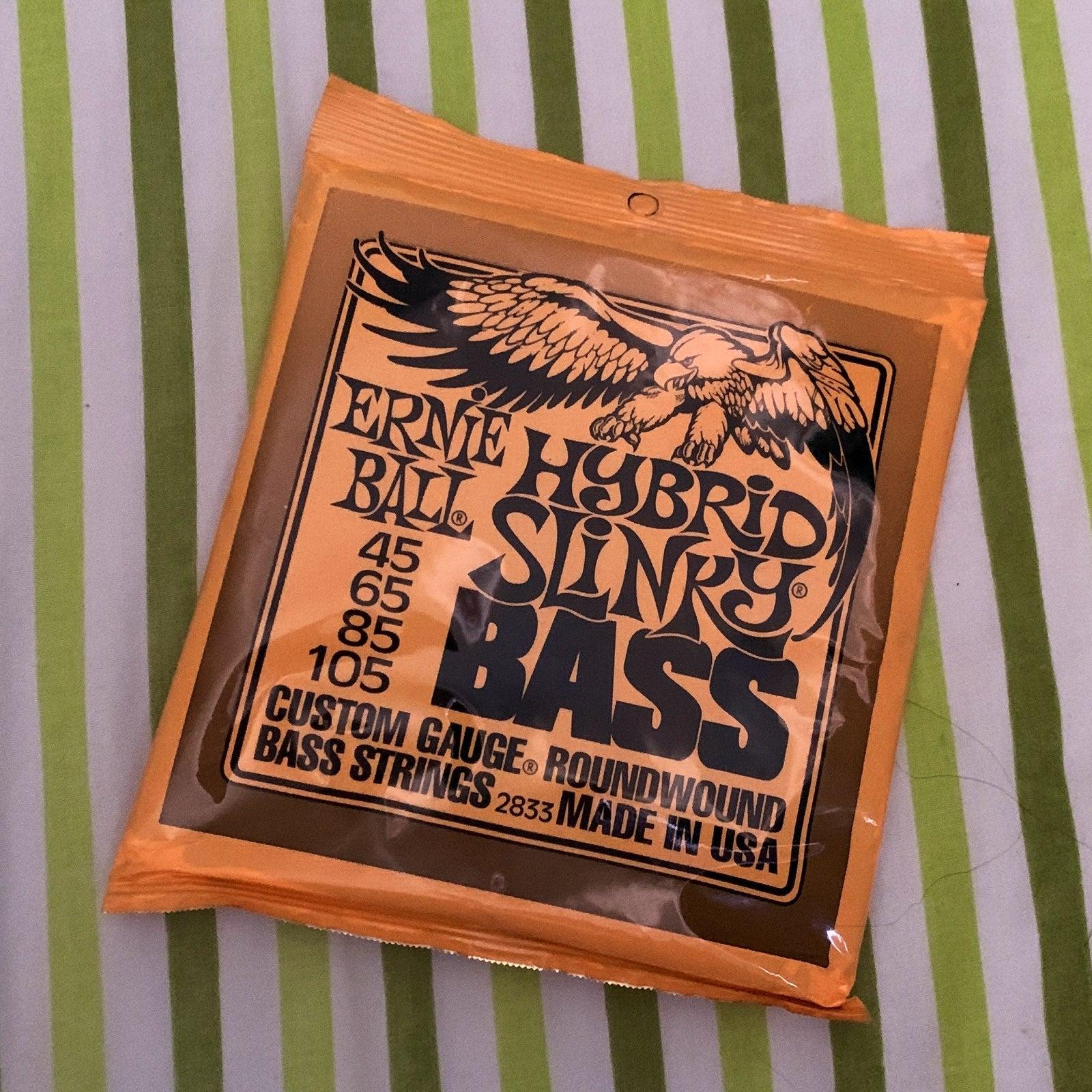 Ernie Ball Bass Slinky Strings