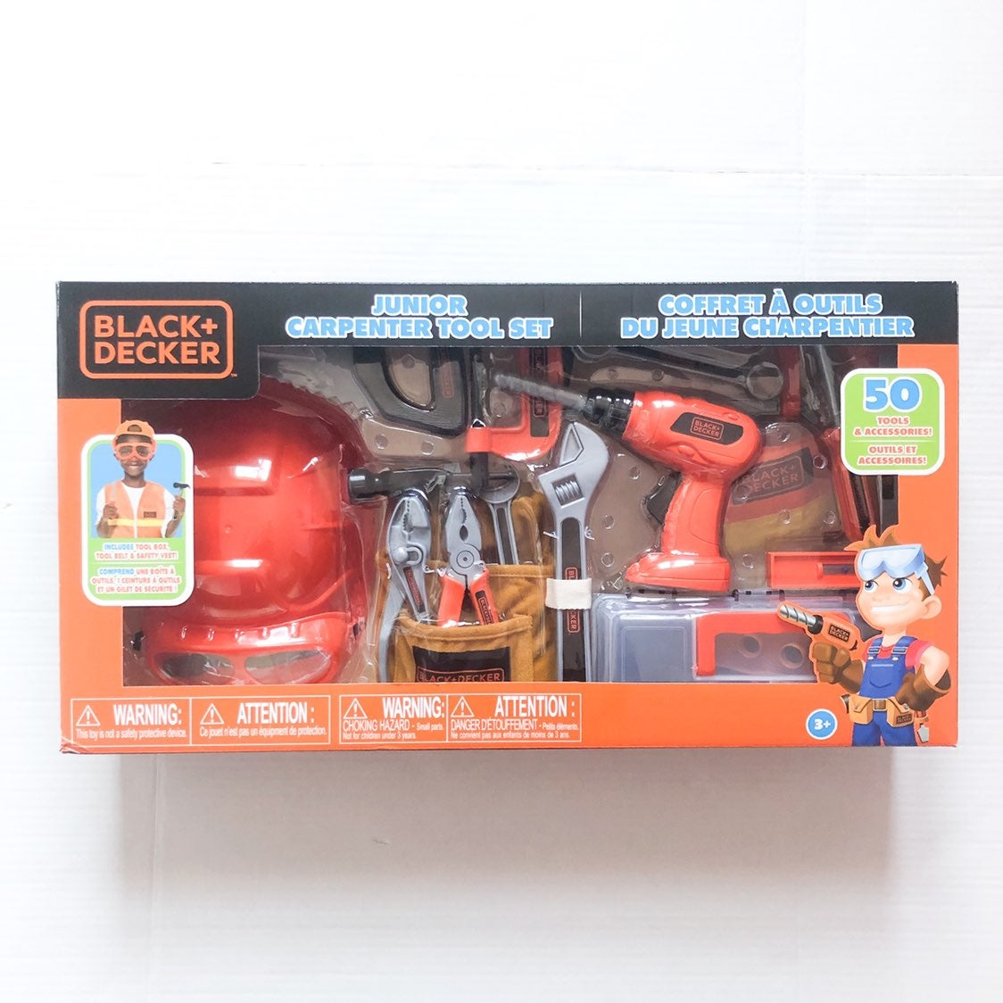 Black & Decker Junior Carpenter Tool Set