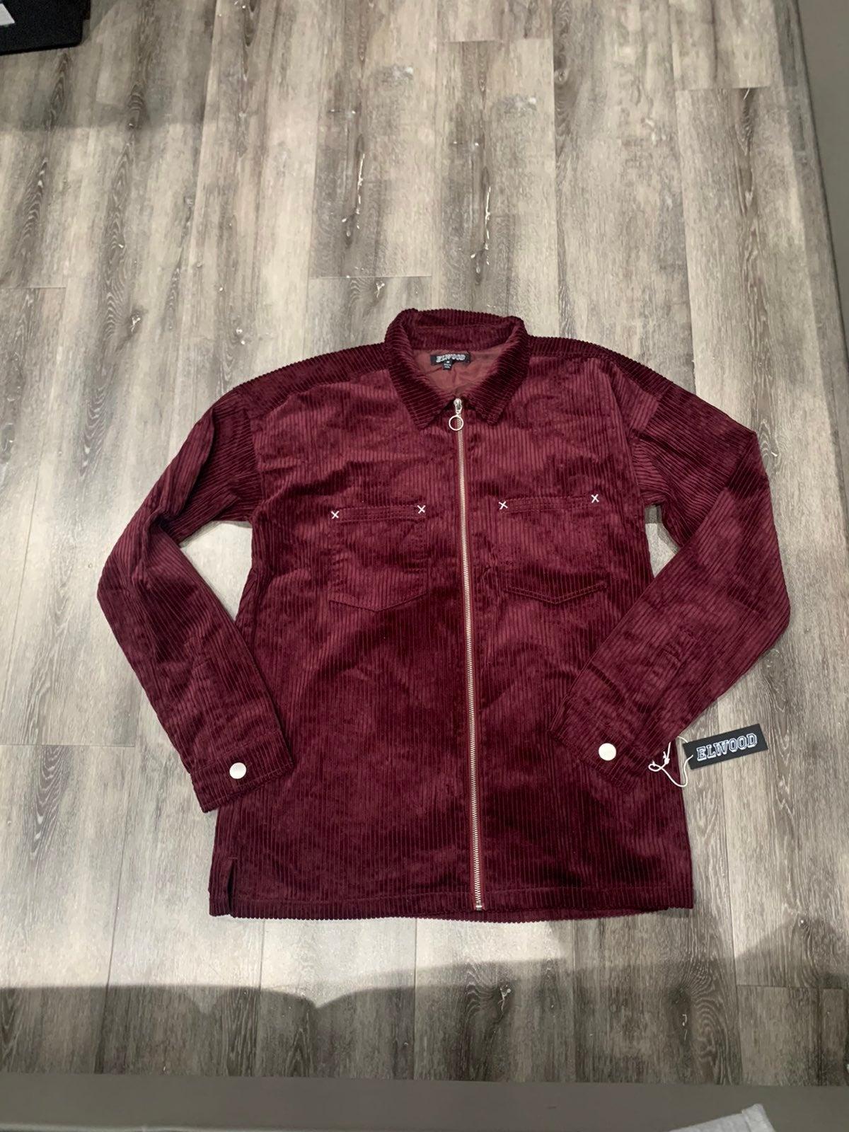 New elwood velvet jacket