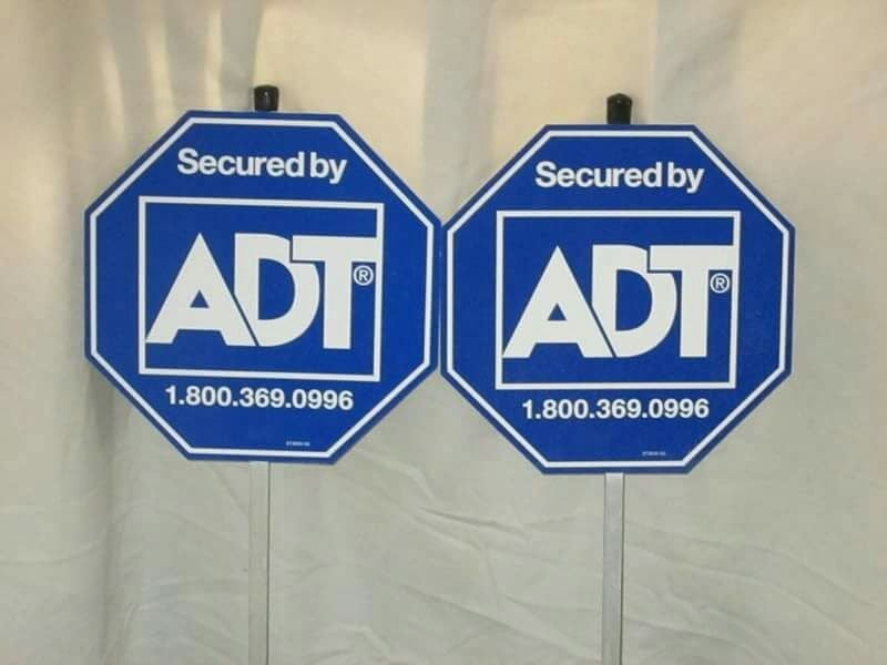ADT signs
