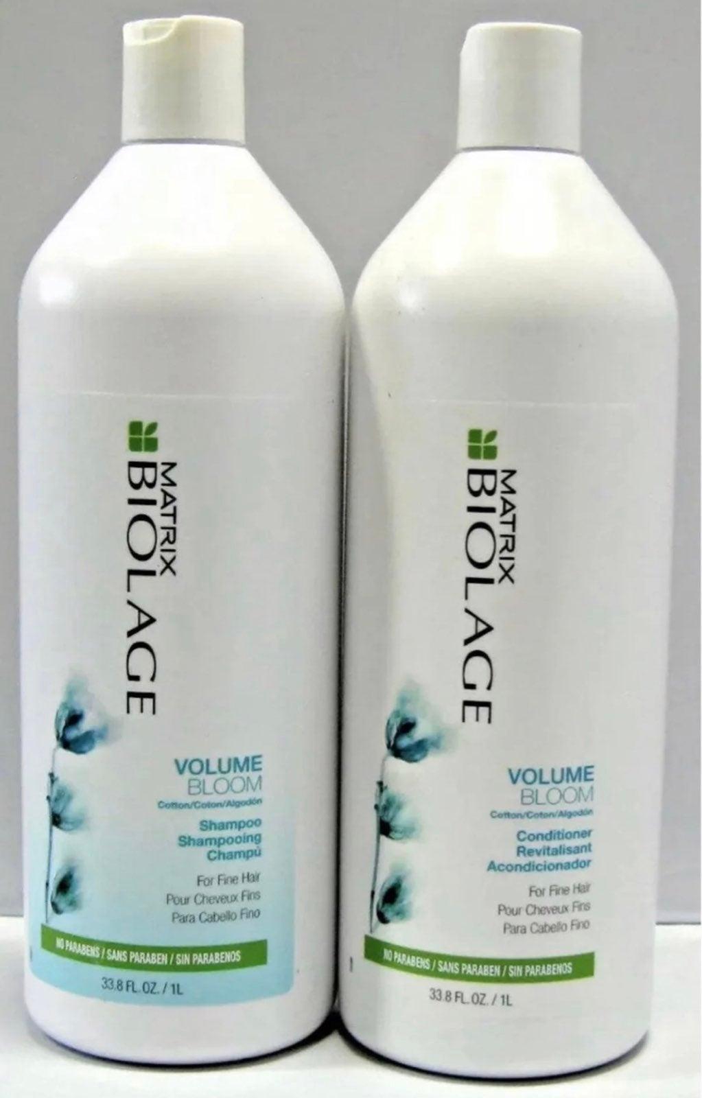 Biolage Vol Shampoo & Conditioner 33.8oz