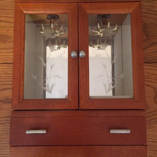 Craft & barrow small wooden jewelry box
