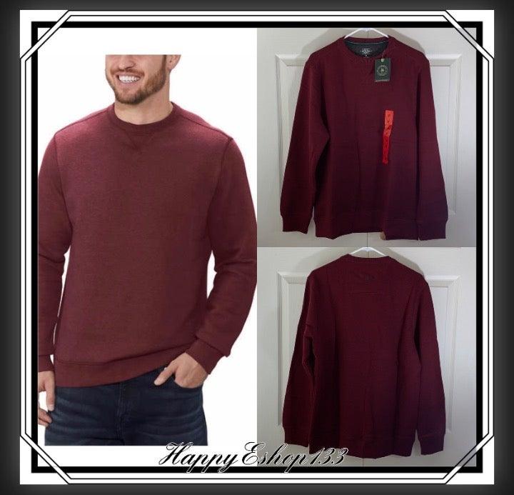 GH Bass Men's Pullover Sweater Crew Neck