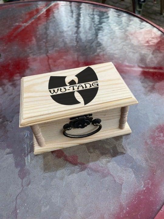 Wu Tang Engraved Jewelry / Stash Box