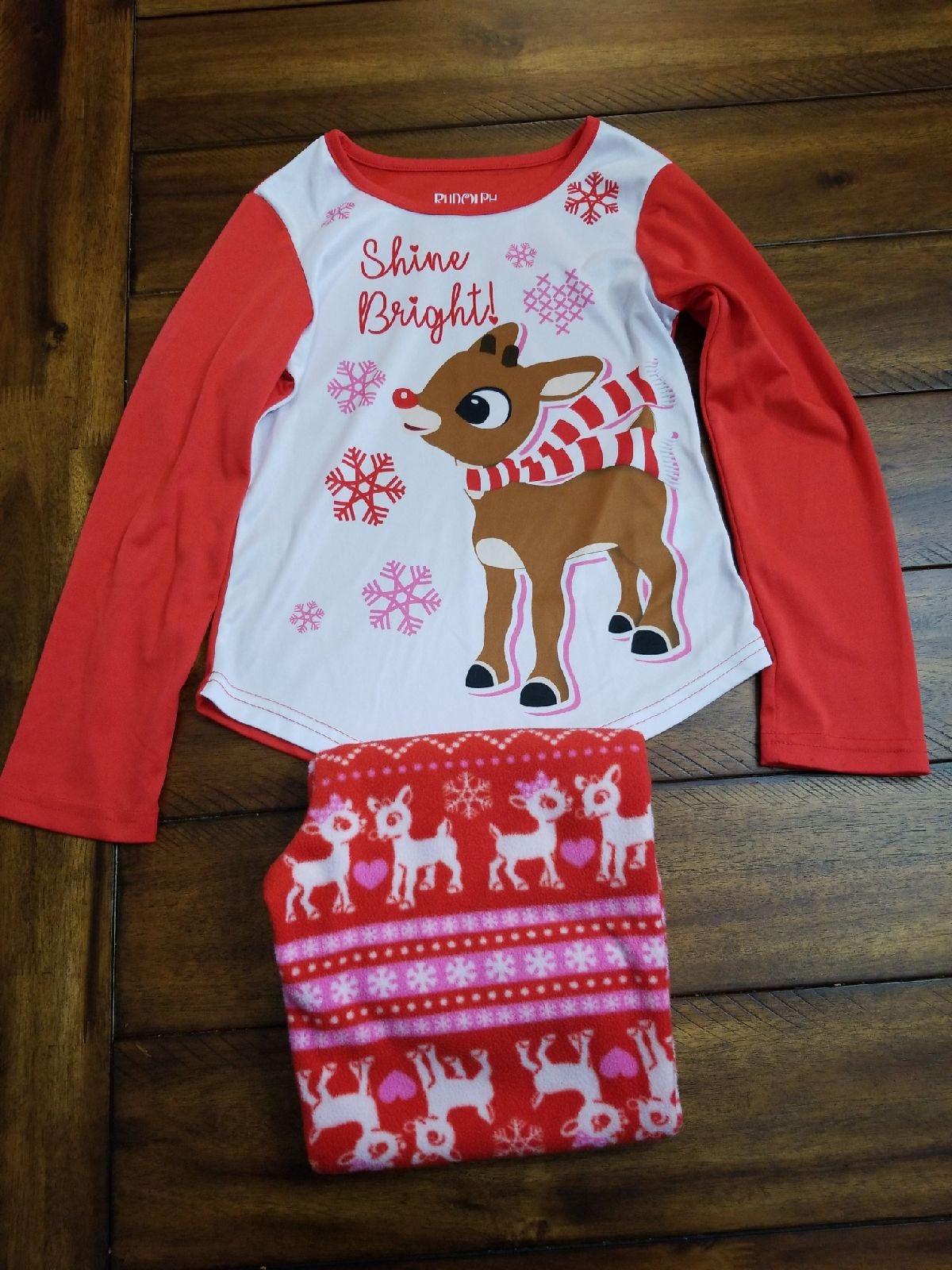 Rudolph Shine Bright PJs