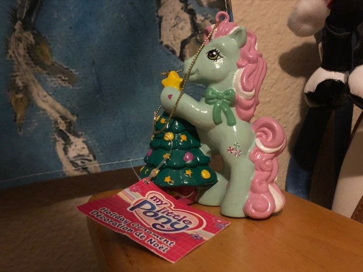 My little pony ornament