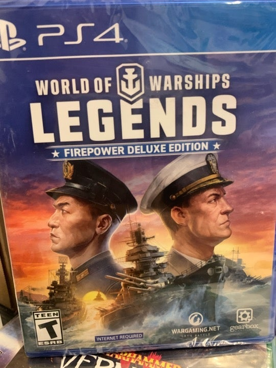 World of Warships Legends deluxe edition