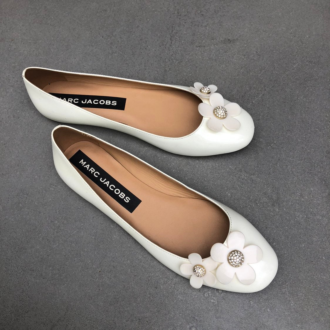 MARC JACOBS Daisy flat shoes size 40.5