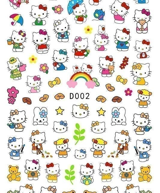 1 sheets stickers