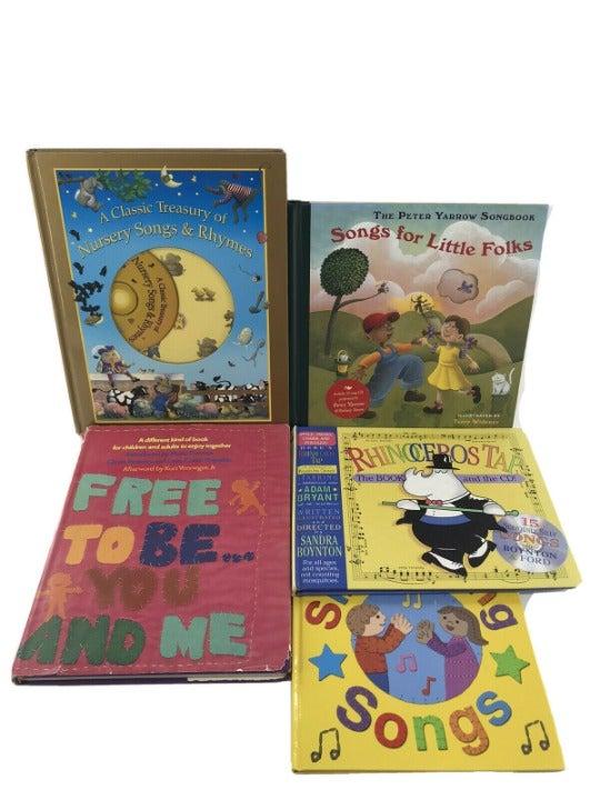 5 Hardcover Songbooks for Kids