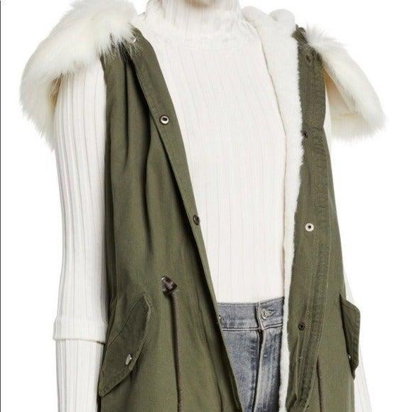 "Brand New ""Love Token"" Cargo Vest Size L"